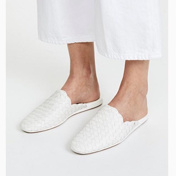 Sam Edelman White Woven Leather Katy